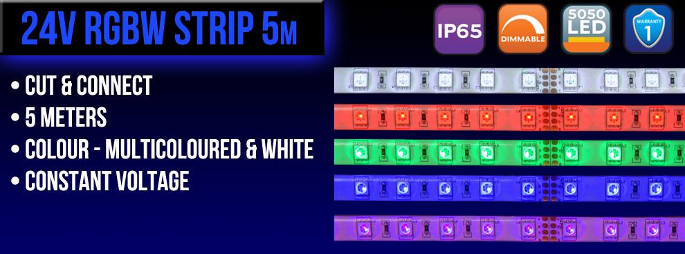24V RGBW Strip final version _02