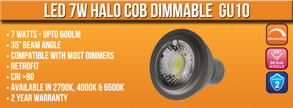 7W Halo COB version 2