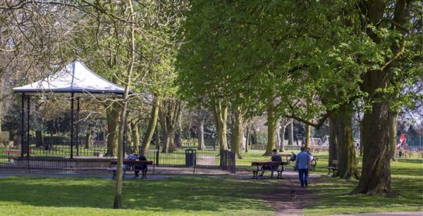 Wisbech Park set for LED Lighting
